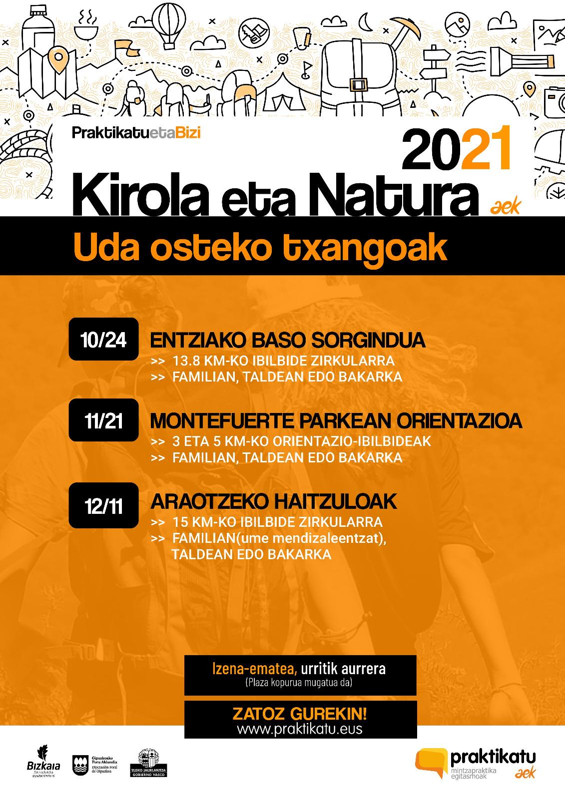 Kirola eta natura 2021